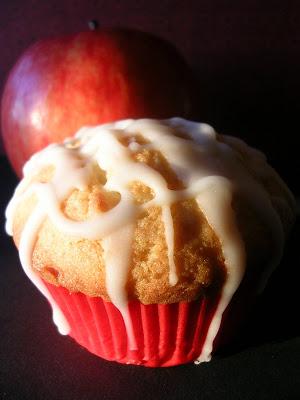 Apple Rum Cupcakes