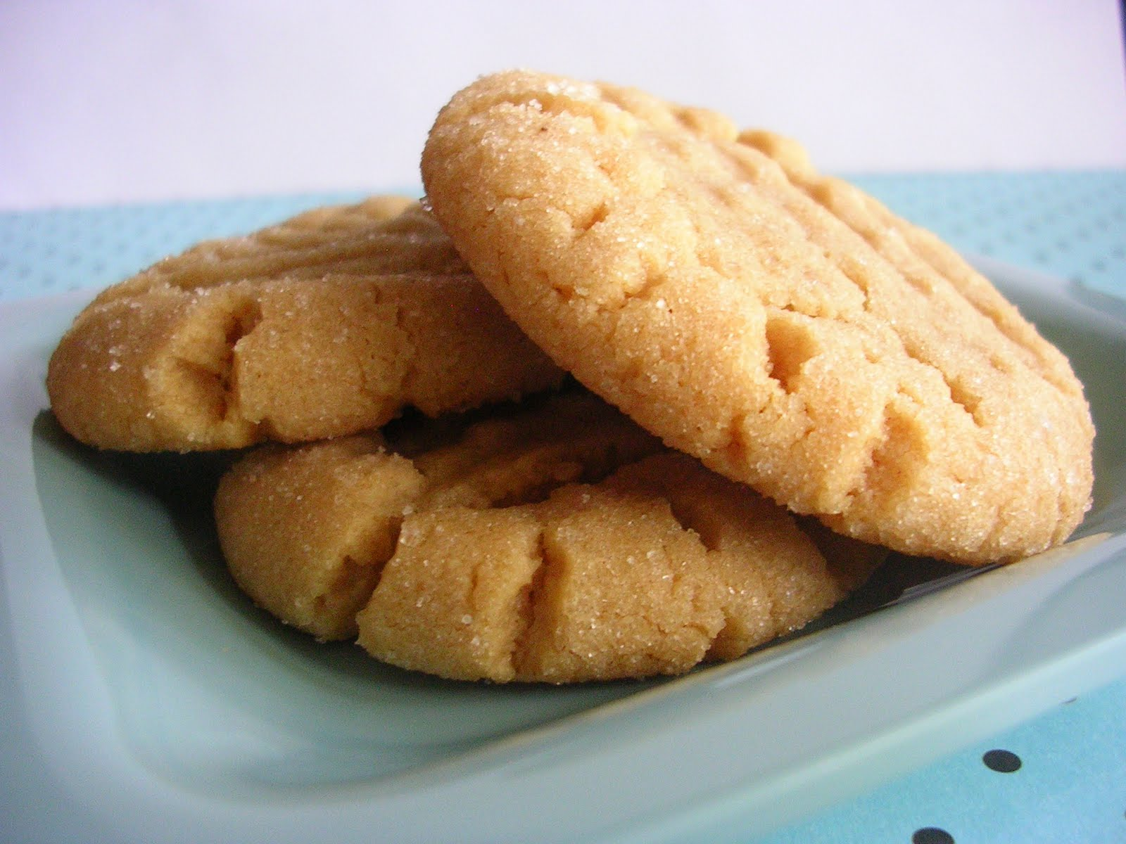 The Busty Baker: Mini Throwdown: Peanut Butter Cookies ...
