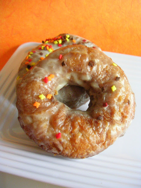 Pumpkin Donuts