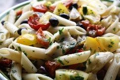 Seasonal Penne Mediterraneo