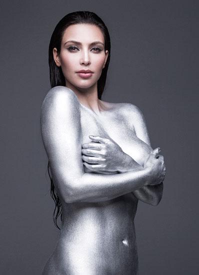 Kim kardashian silver