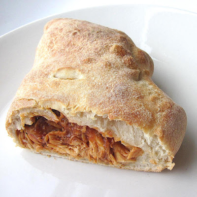 Cooking Stuff: Barbecue Chicken Calzone