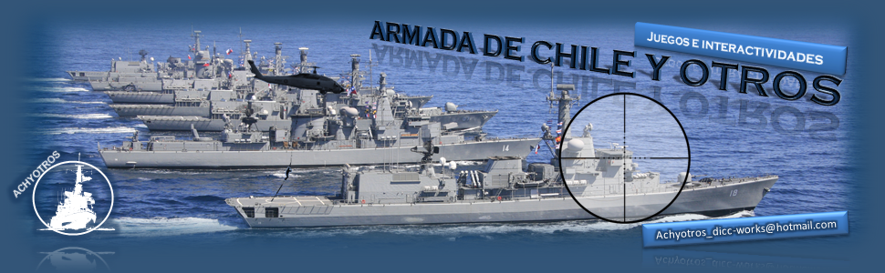 Armada de Chile y Otros: Juegos e Interactividades