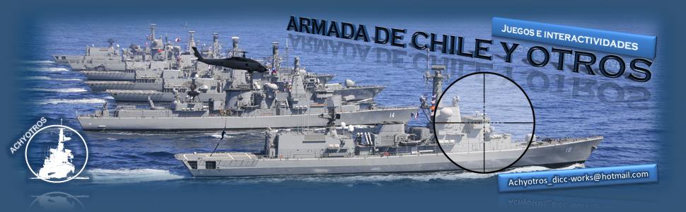 Armada de Chile y Otros: Juegos e Interactividades