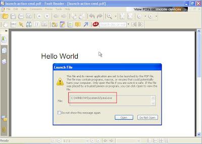 Cuidado con los PDFs Foxit-cmd