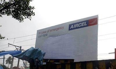 aircel, boat billboard, jean julien guyot, india, blog, strategy, infopub.blogspot.com, ipub.ca.cx, ipub.ca.cx