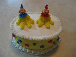 Clown Bithday Cake