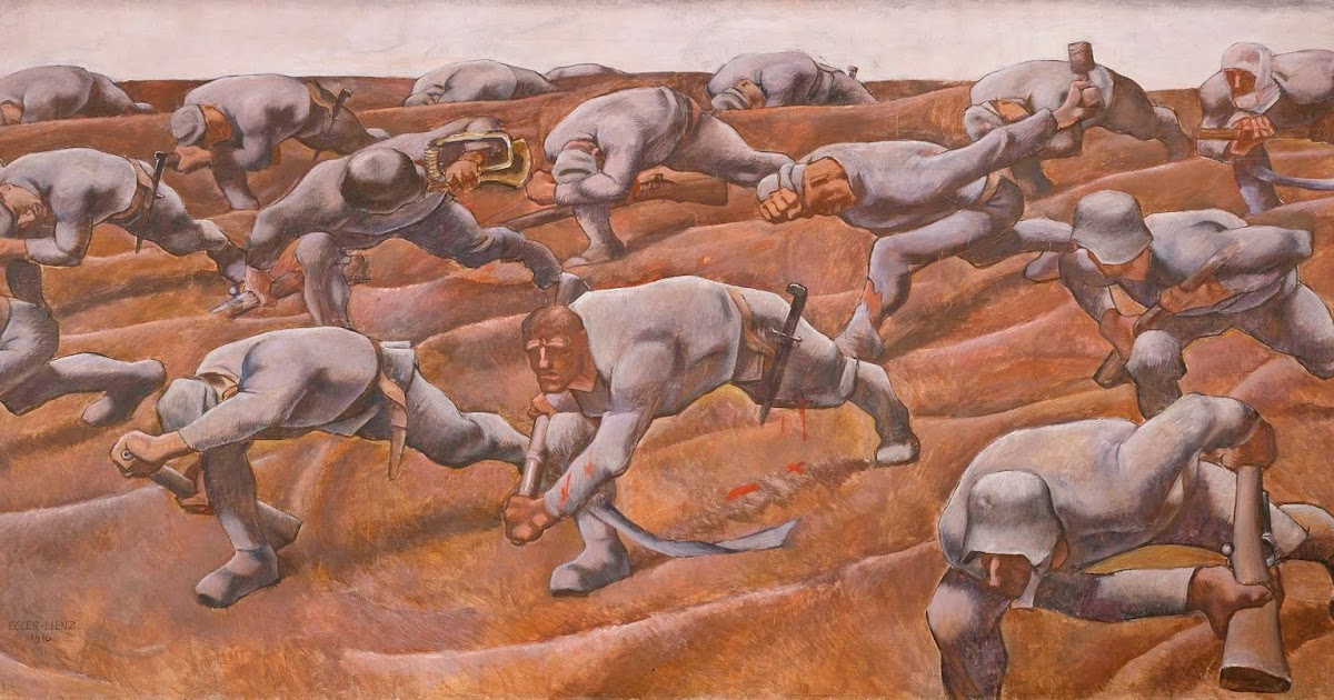METAL ON METAL: Albin Egger-Lienz (1868-1926) anti-war paintings ...