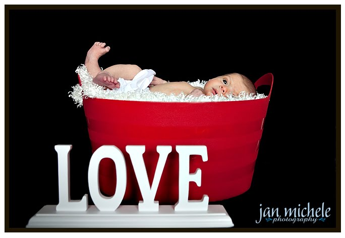 patriotic newborn photography