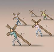 El peso de la cruz