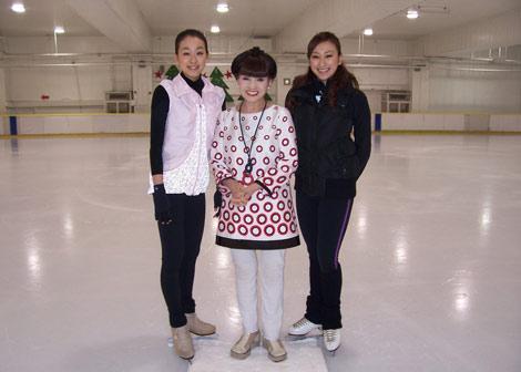 アイススケートの黒柳徹子