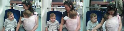 Με το μωρό στο μετρό ή το λεωφορείο, προσέξτε πού θα καθίσετε