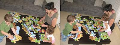 Μια οικογένεια με τρία παιδιά, σκέτη ευτυχία!