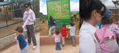 Εκδρομή στο Αττικό Πάρκο με τα παιδιά και το μωρό στο μάρσιπο