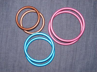 Κρίκοι-δαχτυλίδια για μαρσιπο sling