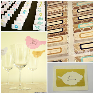 Ask cynthia escort card ideas for Make your own wedding place cards