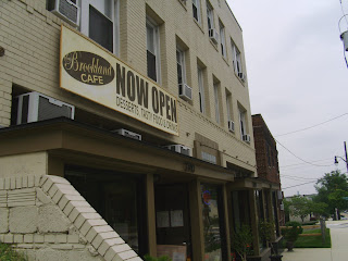 exterior of the Brookland Cafe on 12th Street