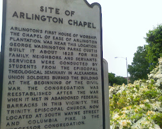 sign marking Arlington Chapel