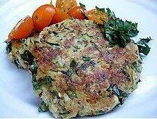 zucchini mock crab cake