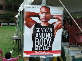 vegan bodybuilder poster