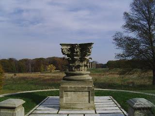 Capitol columns overlook