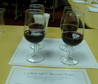the four red wines