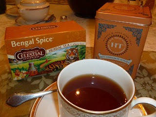 Bengal Spice tisane and Hot Cinnamon Sunset black tea