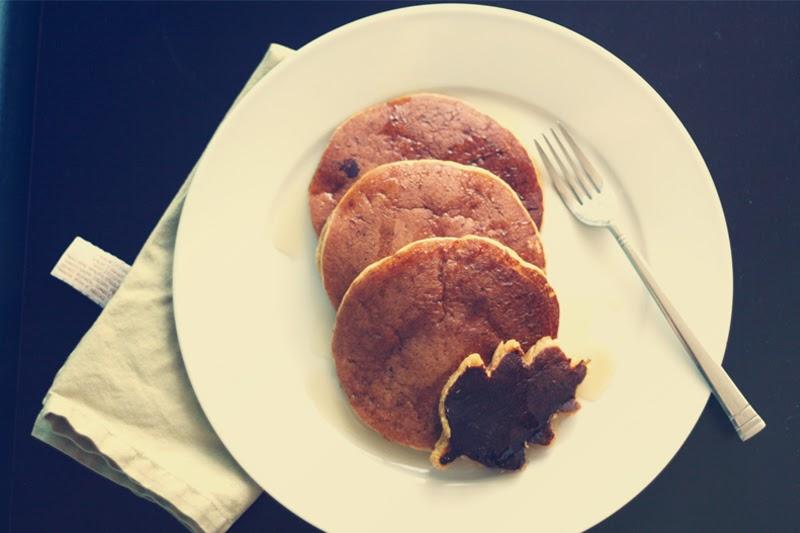 A Musing to Create: pumpkin spice pancakes