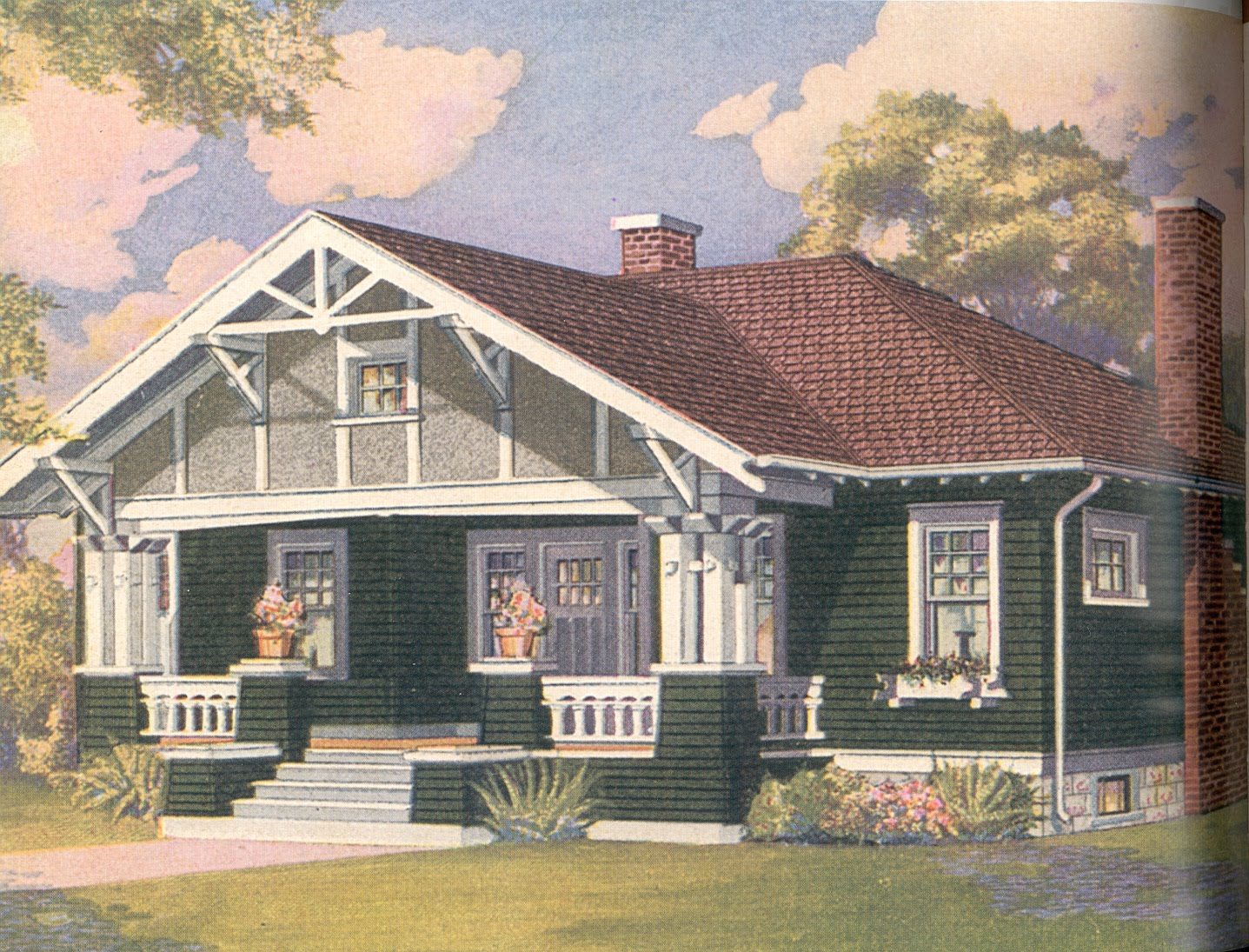 Bungalow Colors Exterior