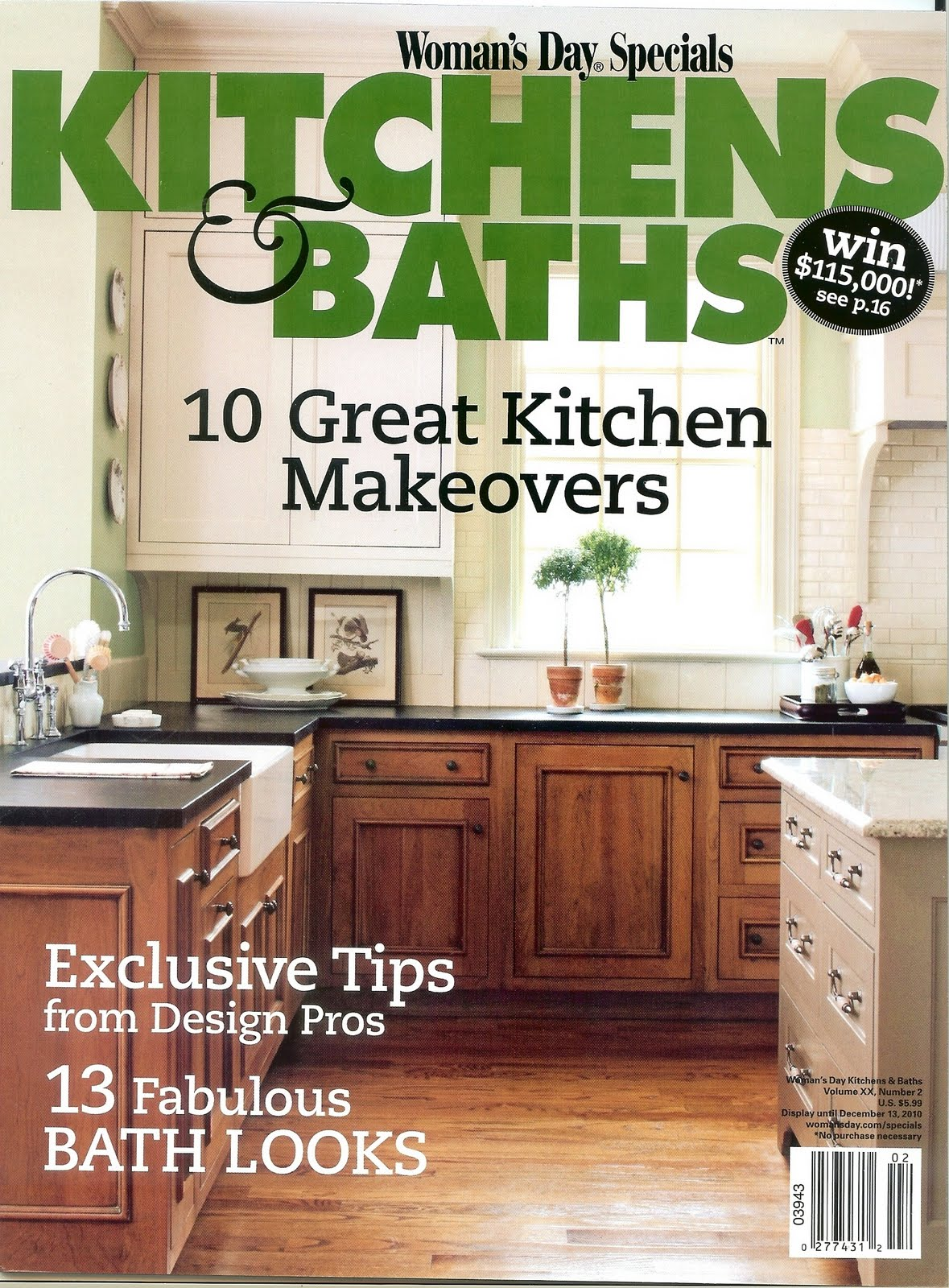 Kitchen Magazine timeless kitchen cabinetry: hot off the presses