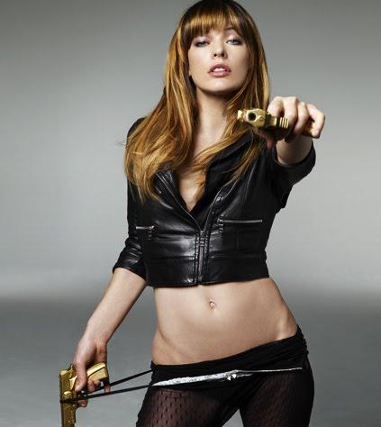 Milla Jovovich 3d