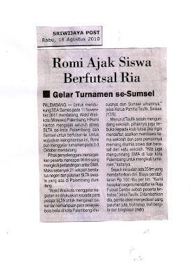 Berita di Sriwijaya Post