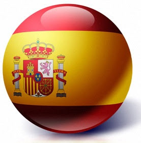 Spain Flag Ball