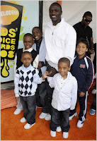akon+n+kids Nickelodeon 2008 Kids Choice Awards