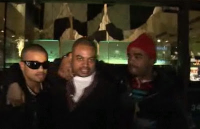 Raz-B, Chris Stokes and Ricky Romance
