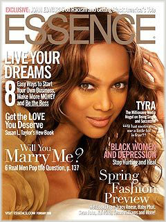 tyra Tyra Banks Covers Essence