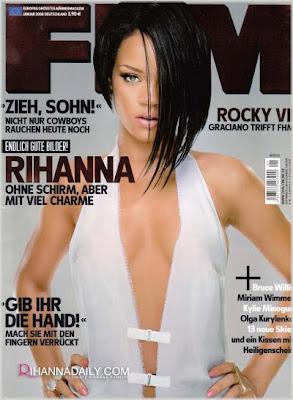 Rihanna Covers FHM