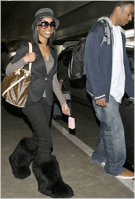 brandy Brandy Spotted Out In LA