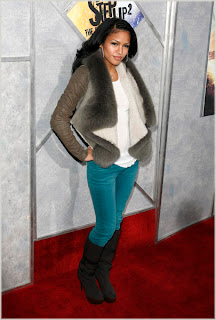 Cassie At The 'Step Up 2' Premiere