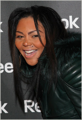 Lil' Kim At Reebok Event
