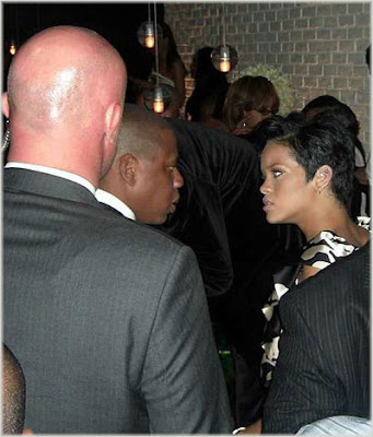 rihanna+and+jayz12 Caption This: Rihanna &amp; Jay Z After The Grammys