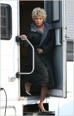 Beyonce On Set Of 'Cadillac Records'