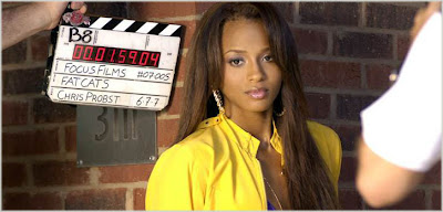 cici2 Ciara On Set Of Cant Leave Em Alone Video