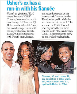 usherntouch Rumour: Chilli &amp; Tameka Foster Confrontation