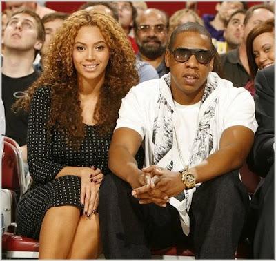 Beyonce & Jay-Z At Houston Rockets Game