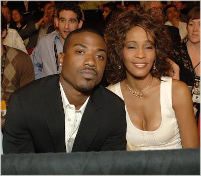 Whitney & Ray J Attend Vegas Fight Night