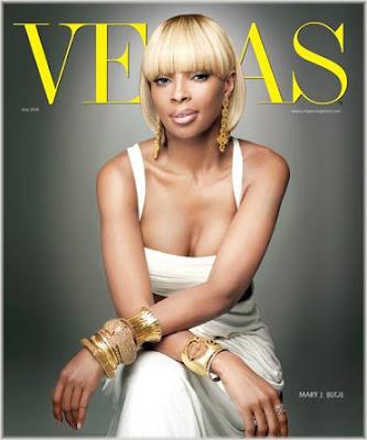 Mary J. Blige Covers Vegas Magazine