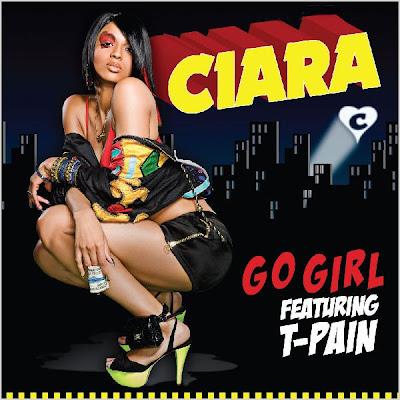 Ciara 'Go Girl' Single Cover