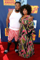 fatman+scoop+and+wife 2008 MTV VMA: Arrivals