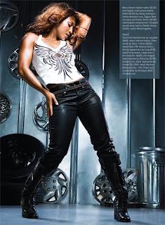 Chilli In Upscale Magazine